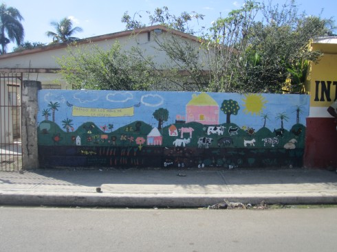 After.  The mural really brightens up the block!